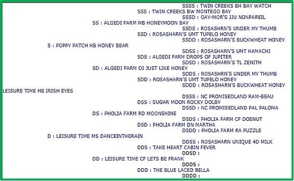 Irish pedigree